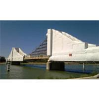 Exemple de chantier de confinement sur pont