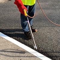 Un exemple d'utilisation des produits en configuration ground-marking