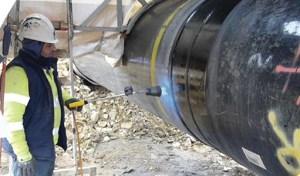 L'étanchéité des pipelines avec les outils chauffants Wizz Express Shrink Wrapping