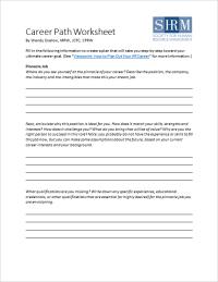 Career Planning Worksheet | www.pixshark.com - Images ...