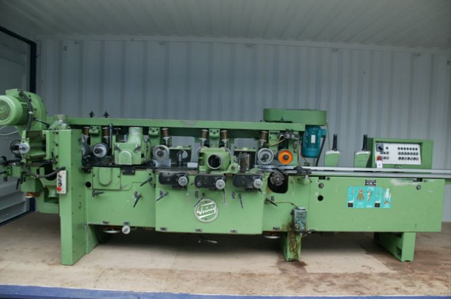 Weinig 7 Head Moulder complete with Sound Enclosure ( Not Shown )