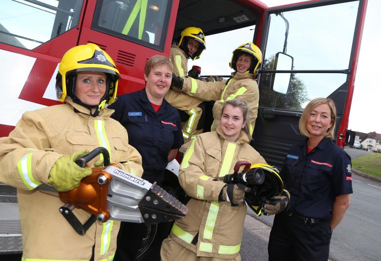 On Call Firefighter Recruitment Campaign  Shropshire Fire