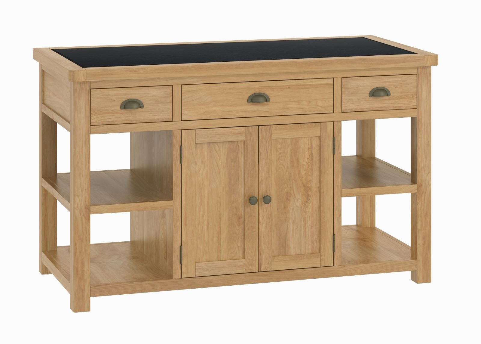oak kitchen islands garbage cans cheshire large island
