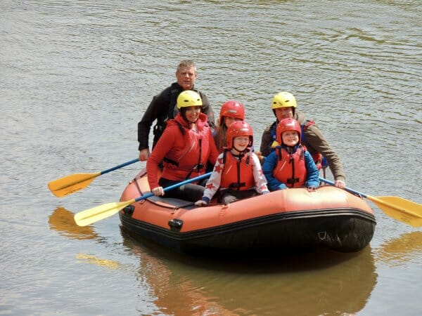 Shropshire Raft Tours guided trips