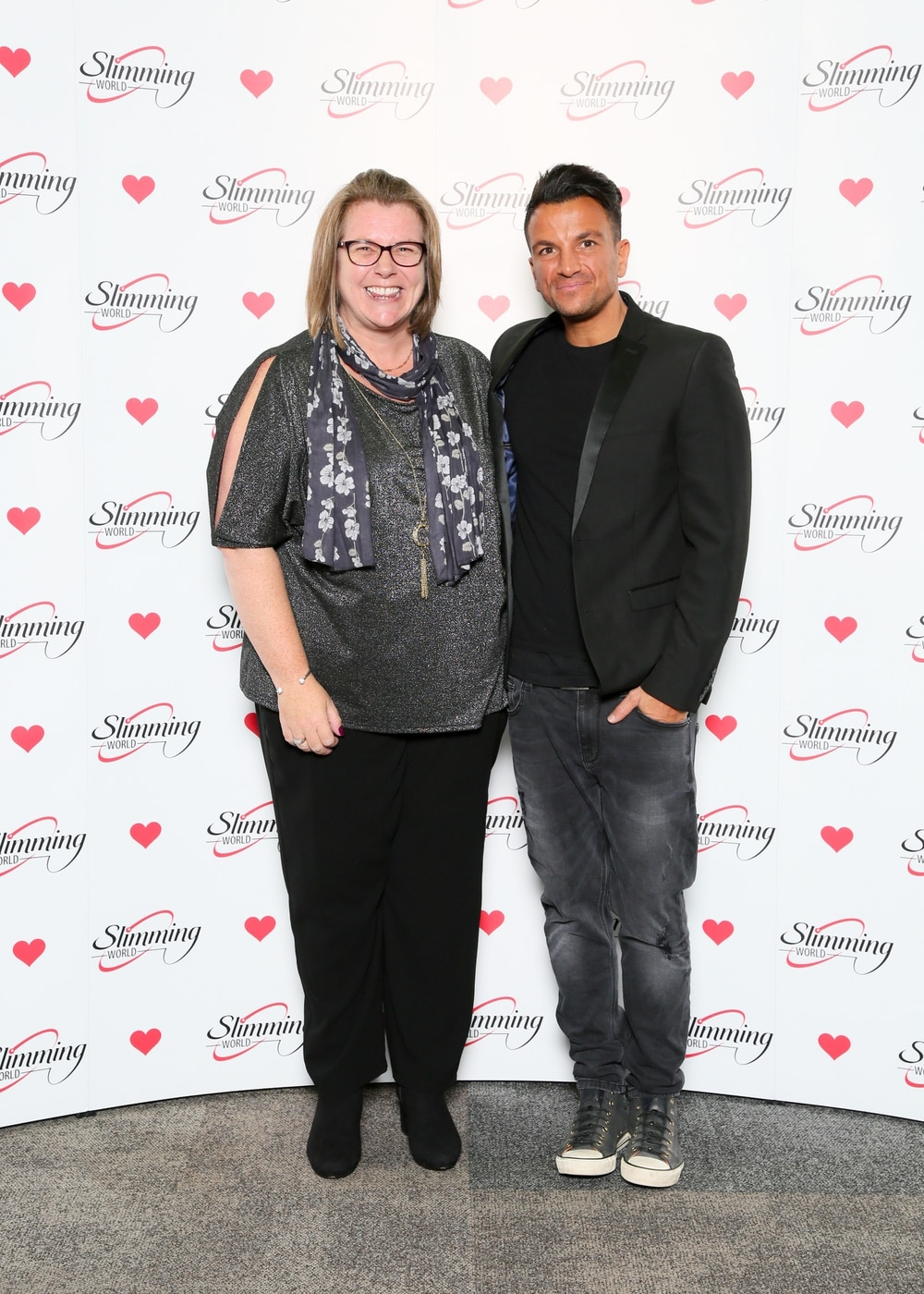Slimming World boss meets Peter Andre  Shropshire Star