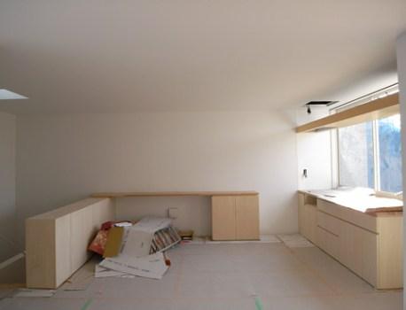 フルオーダーキッチン 設置完了。家具屋さんの丁寧な仕事です