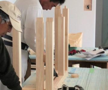 造作キッチン の製作と外構工事に着手 | ゆめみ野の家