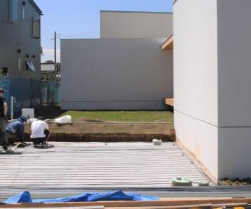 駐車場の捨てコンクリートと土間配筋 | ゆめみ野の家