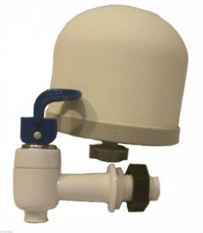 Kit to Build bucket gravity water filter