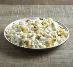 Pasta Alfredo with Chicken Camping Food