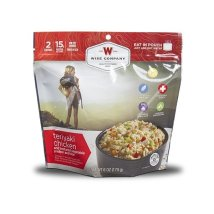 Teriyaki Chicken and Rice Camping Food