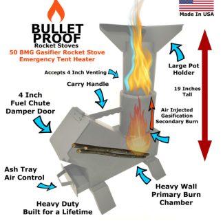 Bullet Proof Rocket Stoves