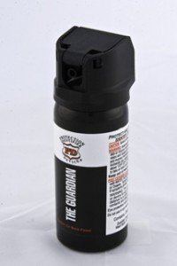 Guardian clear pepper spray