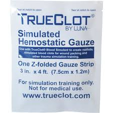 TrueClot Gauze