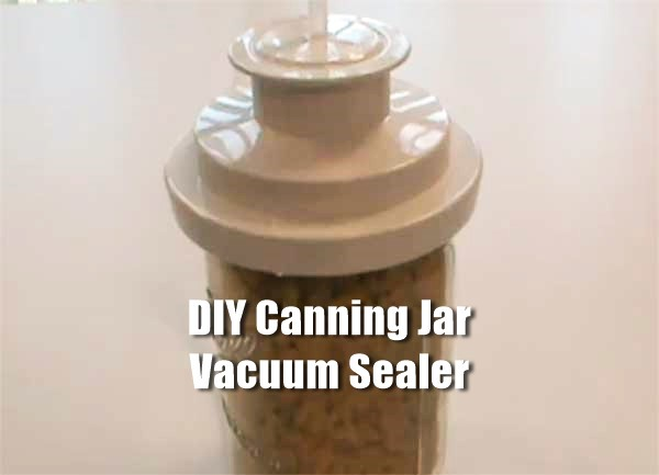 Homemade Vacuum Sealer