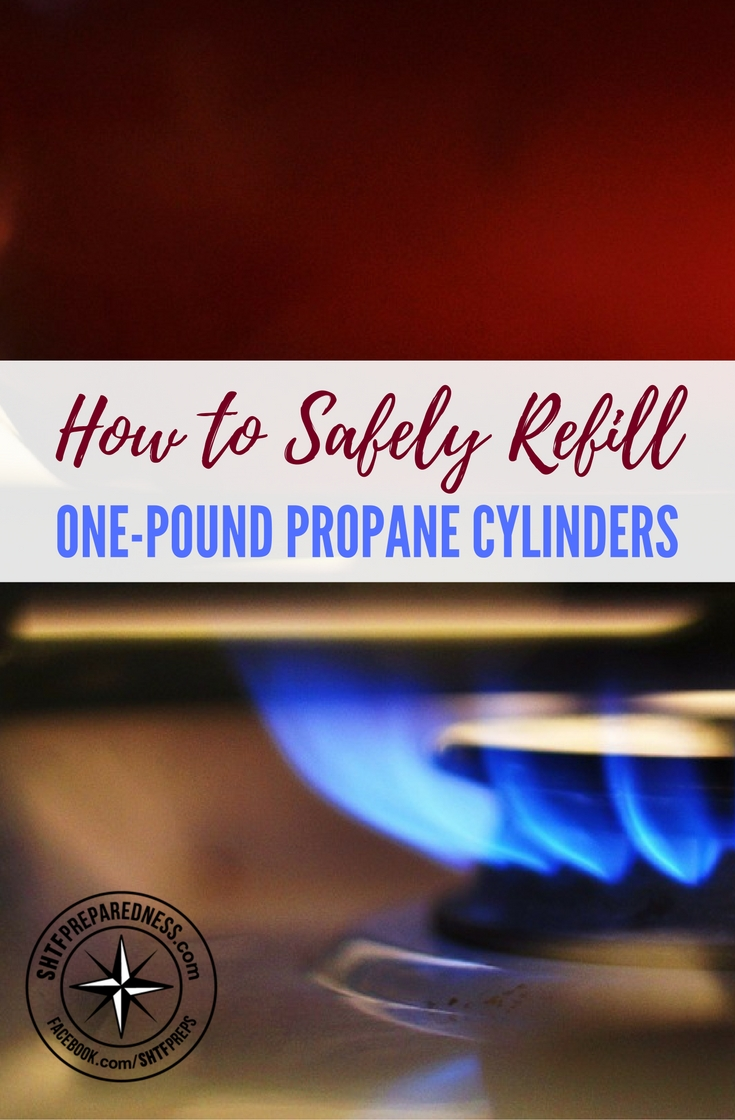 Refill OnePound Propane Cylinders