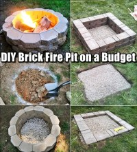 DIY Brick Fire Pit on a Budget - SHTF & Prepping Central