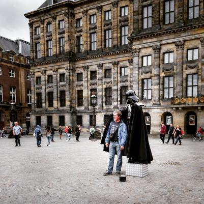 All's Well With The Force In Dam Square