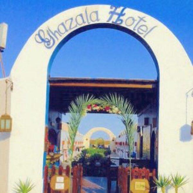 ▲位於達哈卜沿海公路的Ghazala Hotel,經濟實惠CP值蠻高的
