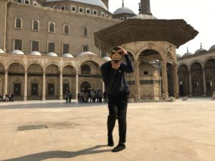 穆罕默德.阿里清真寺以及慕名遊客