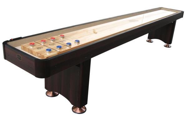12' Espresso Playcraft Woodbridge Shuffleboard Table