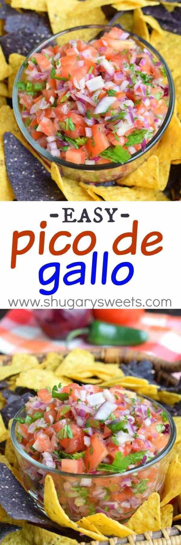 Pico de Gallo Shugary Sweets