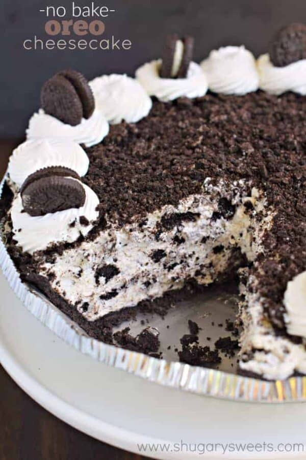 When You Re Looking For An Easy Dessert This No Bake Oreo Cheesecake Recipe