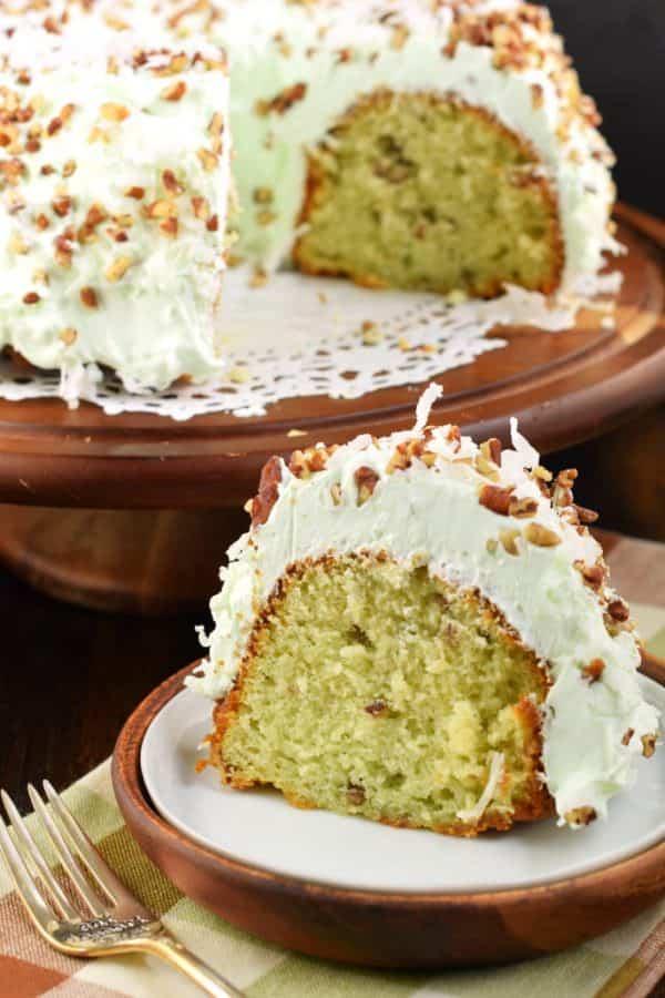 Watergate Bundt Cake Shugary Sweets