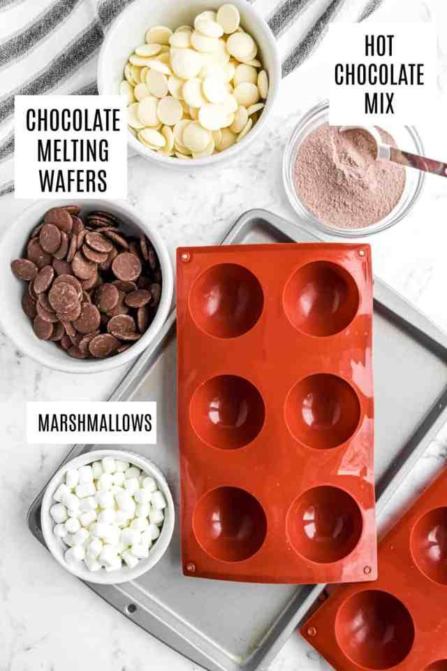 How to Make Hot Cocoa Bombs - Shugary Sweets