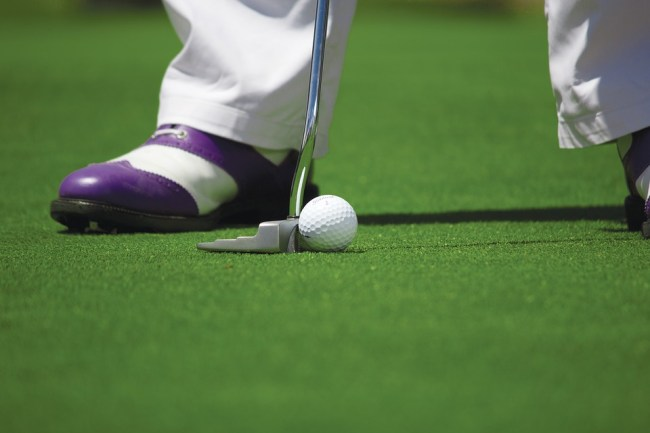 an intermediate golfer