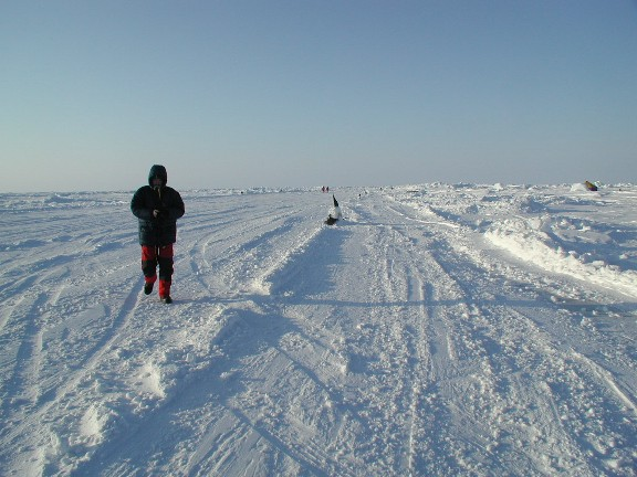 Barneo Ice Camp at 89th parellel