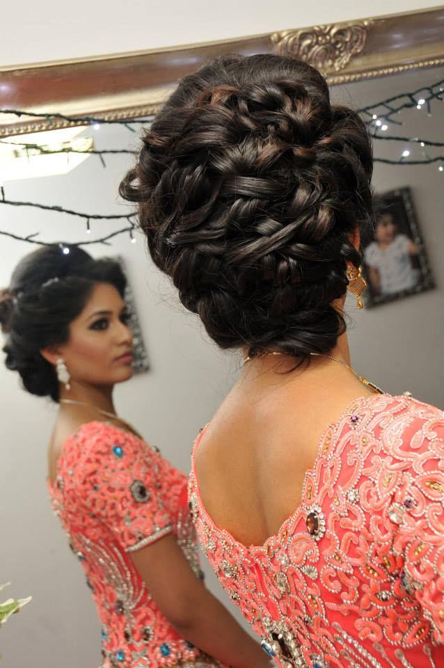 Asian Bridal Hairstyle Shumailas Com