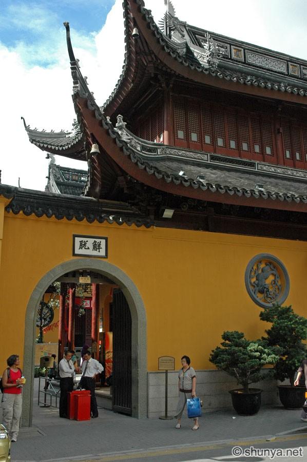 Jade Buddha Temple. Shanghai. China   Shunya