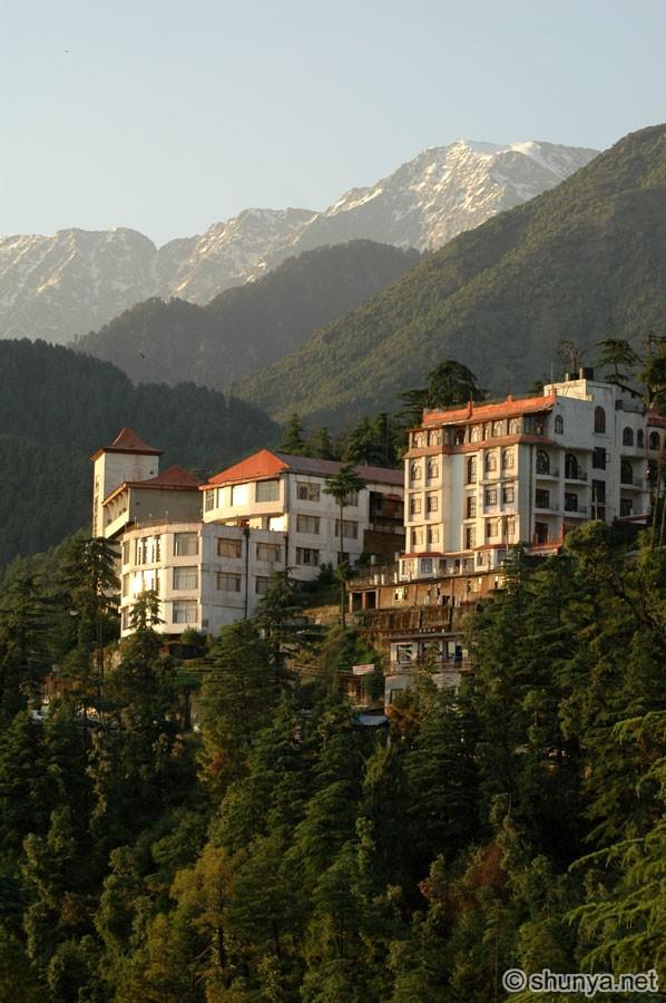 Dharamsala and McLeod Ganj India  Shunya