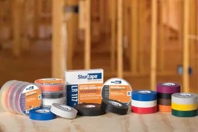 Shurtape Introduces New Line of Electrical Tapes