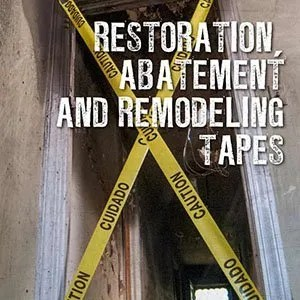 Restoration, Abatement and Remodeling Tapes Sales Sheet