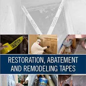 Restoration, Abatement and Remodeling Tapes Sales Sheet