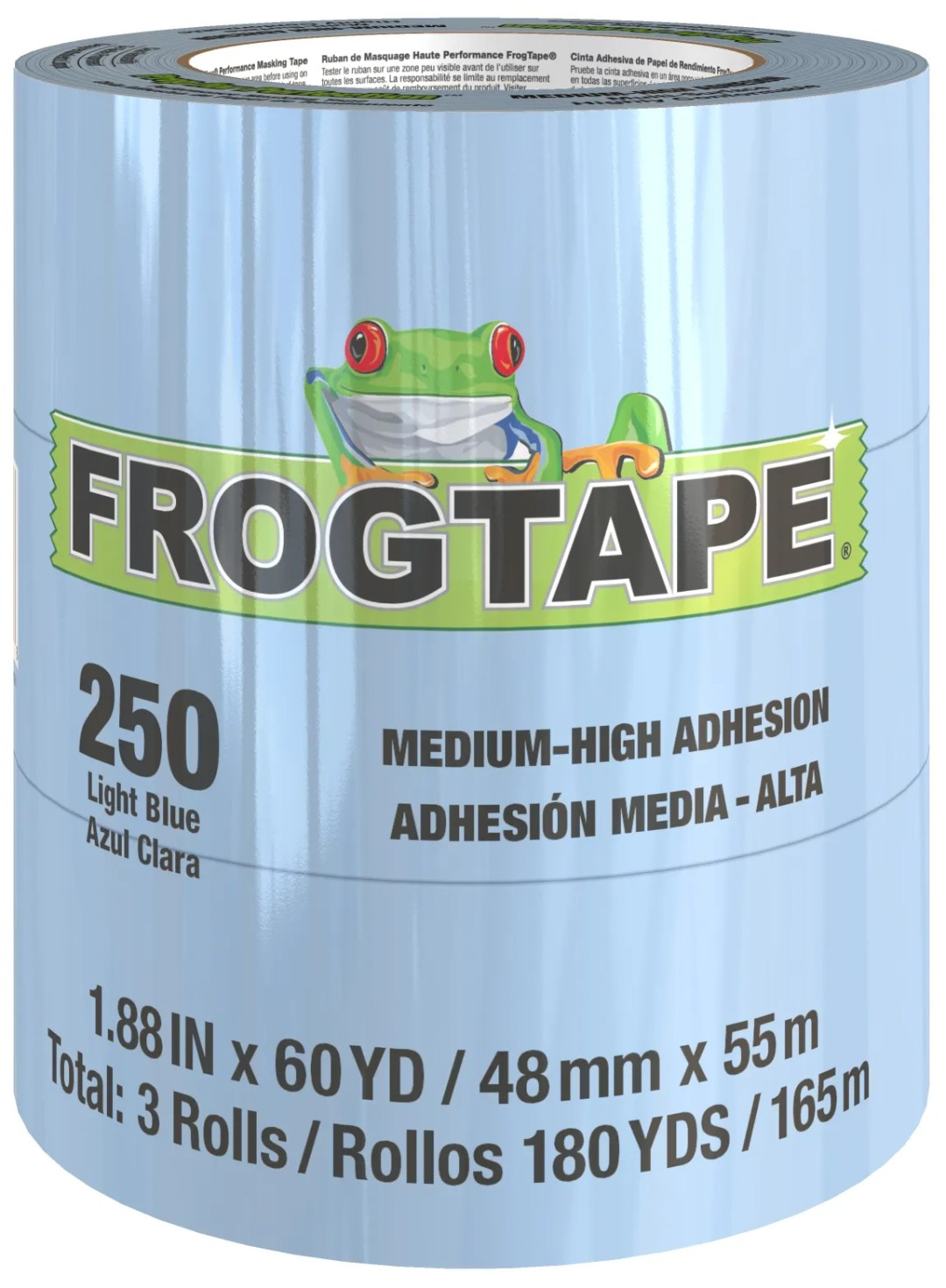 FrogTape® 250 Light Blue Masking Tape Product Image