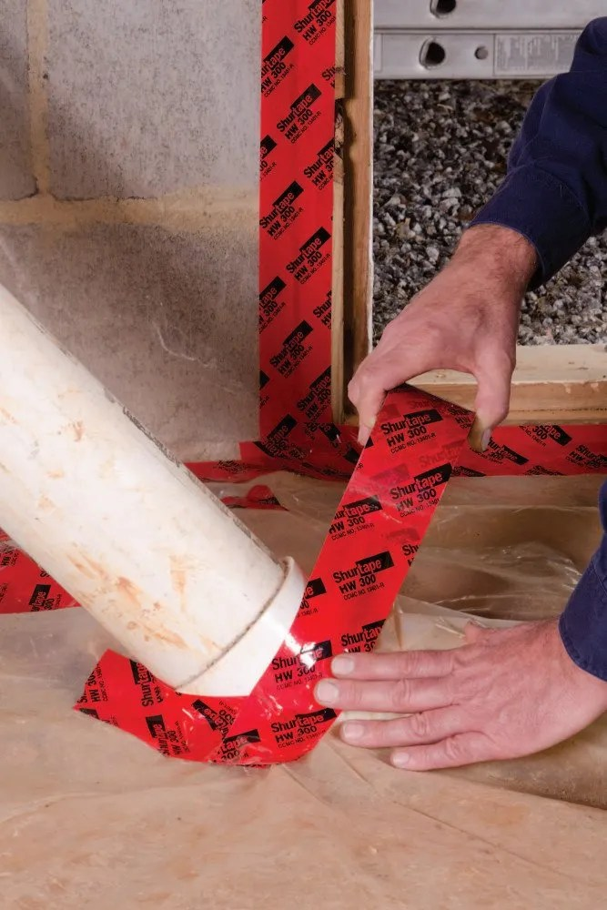 HW 300 Housewrap/Sheathing Tape - Shurtape