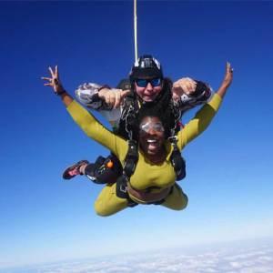 Tandem Skydiving Dubai
