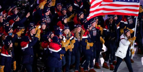 The Torch is Lit: Olympic Opening Ceremony
