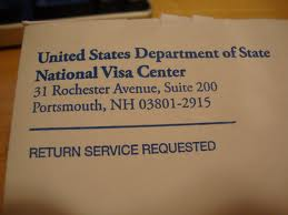 National Visa Center FAQ Immigration State Department