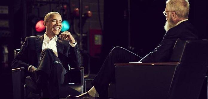Barrack Obama u Lettermana