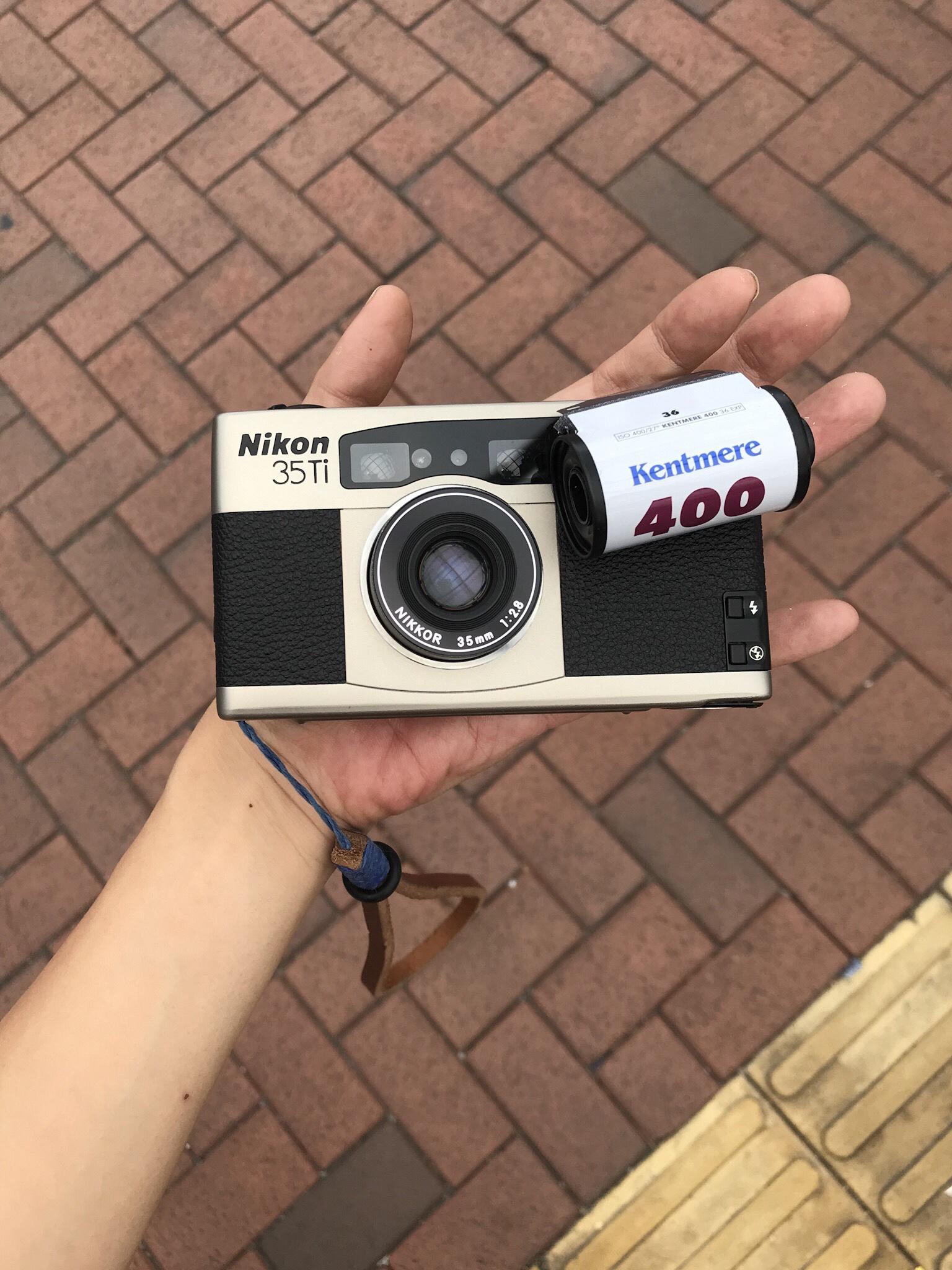 Nikon 35ti Film Camera photowalk hk