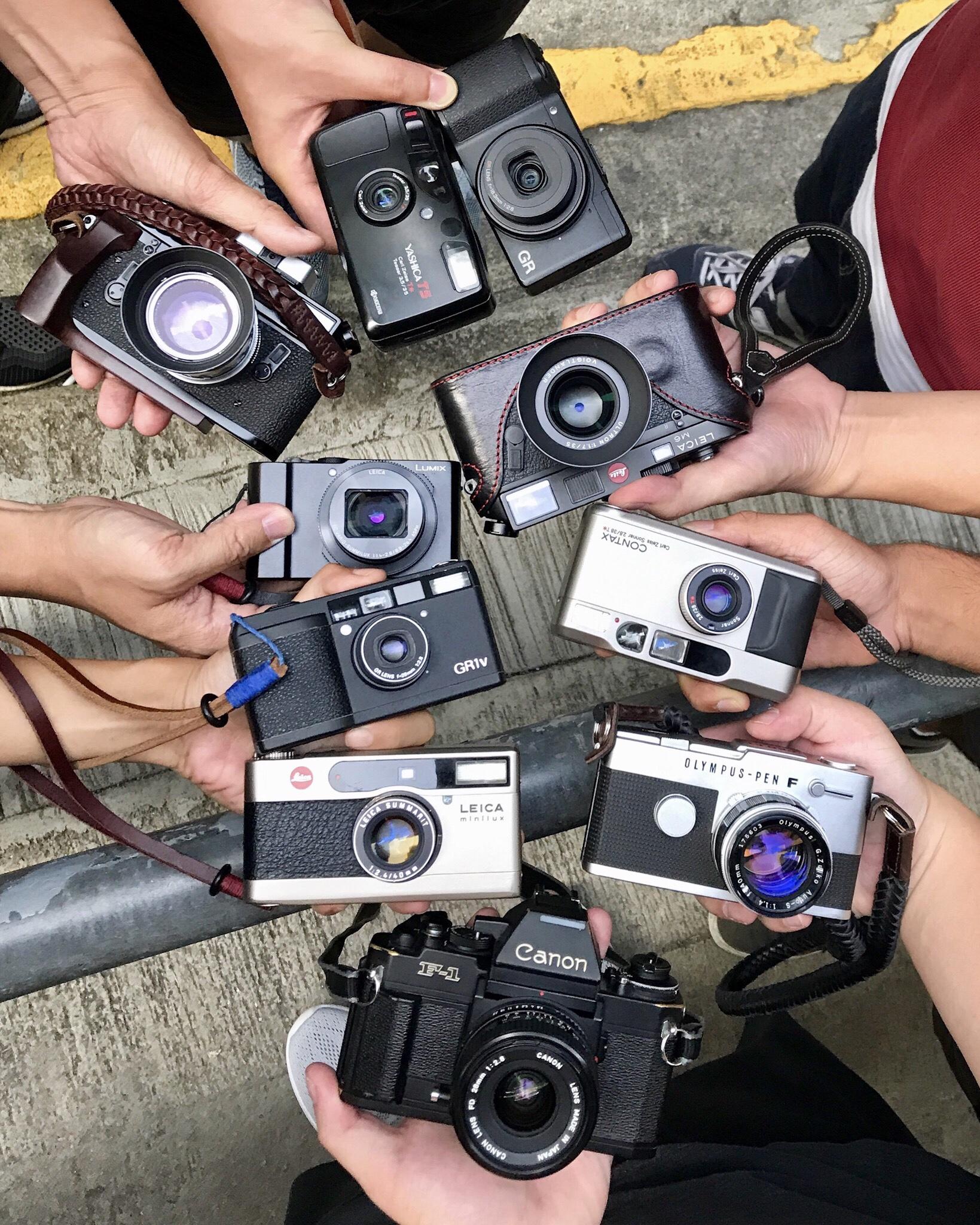 Photowalk Hong Kong street photography film cameras