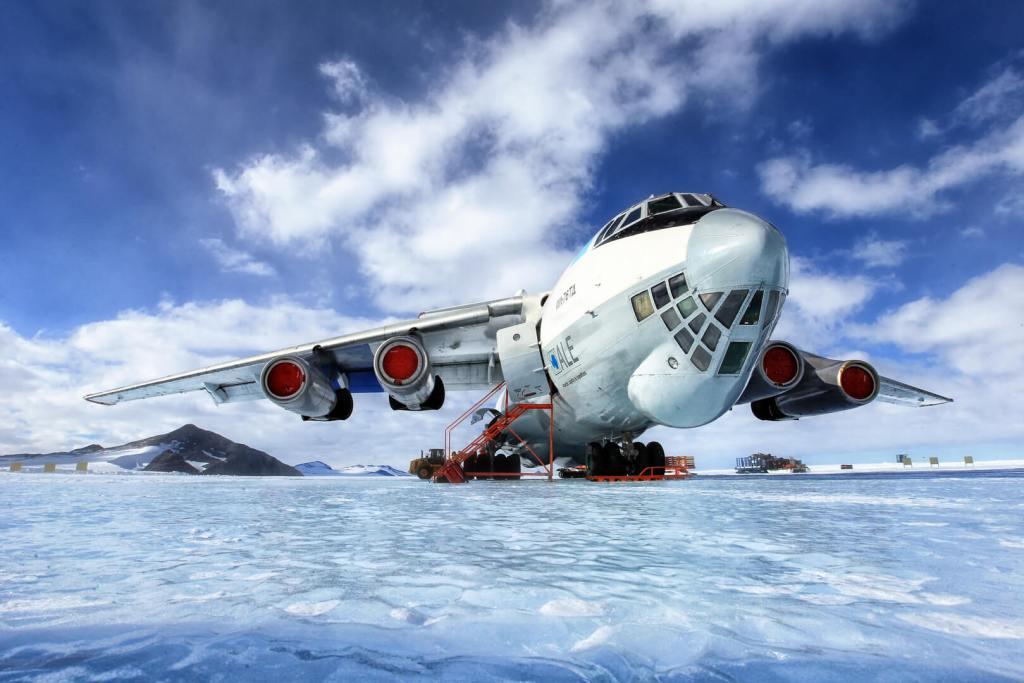 Svalbard Arctic Plane