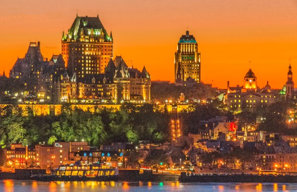 Quebec City Skyline Shutterbug