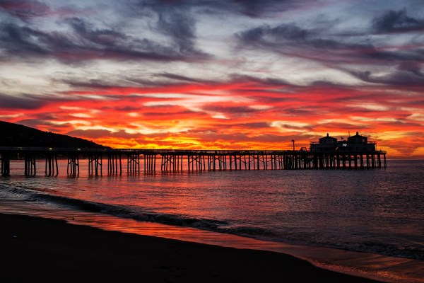Malibu Pier Sunrise Shutterbug