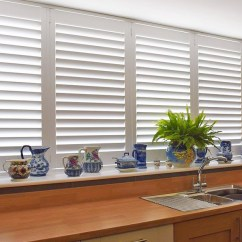 Kitchen Window Shutters Space Saver Design Treatments Ideas Over The Sink Coverings Shuttercraft Derbyshire