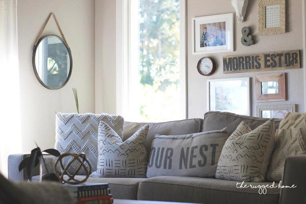 living room country decor kid friendly ideas 75 rustic decorating for every and you don t have to overhaul your entire home create a vibe decorate with simple pieces like this mirror wooden sign